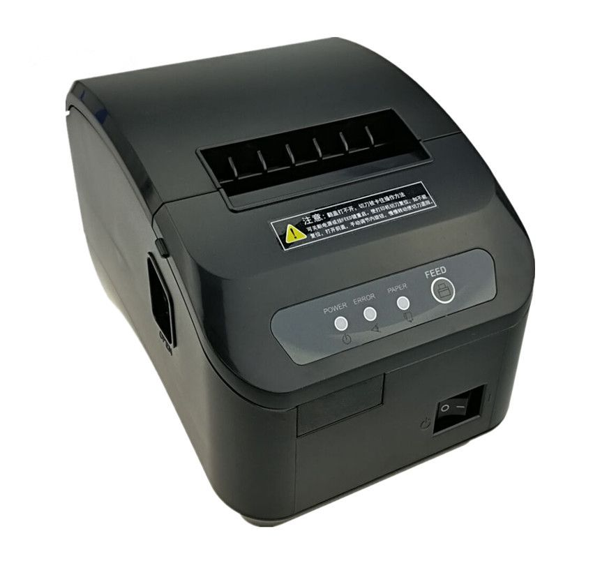 wholesale High quality pos printer 80mm thermal receipt Small ticket barcode printer automatic cutting machine printer