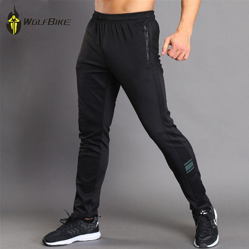 WOSAWE élastique doux pantalons de cyclisme course Sport VTT équitation pantalons longs Jogging respirant bas portant