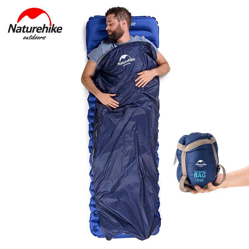NH NatureHike Mini Ultra-Léger Sac de Couchage En Plein Air Camping Voyage Voyage Sac Randonnée Matériel de Camping Portable Coton sac de couchage