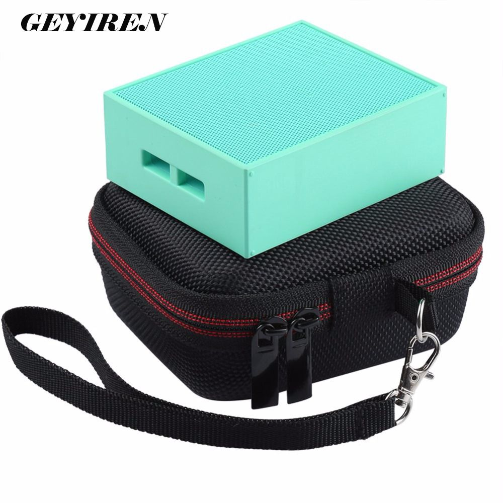 Travel Wireless Bluetooth Hard EVA Speakers Cases With Mesh Pocket For JBL GO For Charger Cables Strap Zipper Holding hands Bag