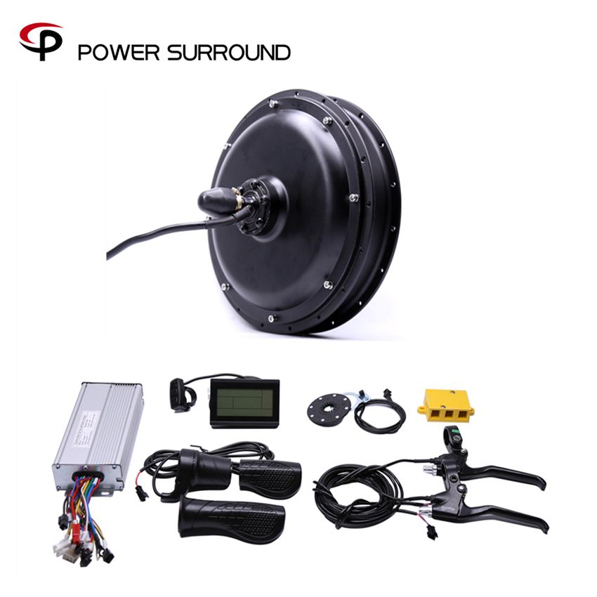 Limited Rushed 2018 Free Shipping 48v 1500w Rear Motor Bicicleta Electric Bicycle Ebike Conversion Kits Wheel