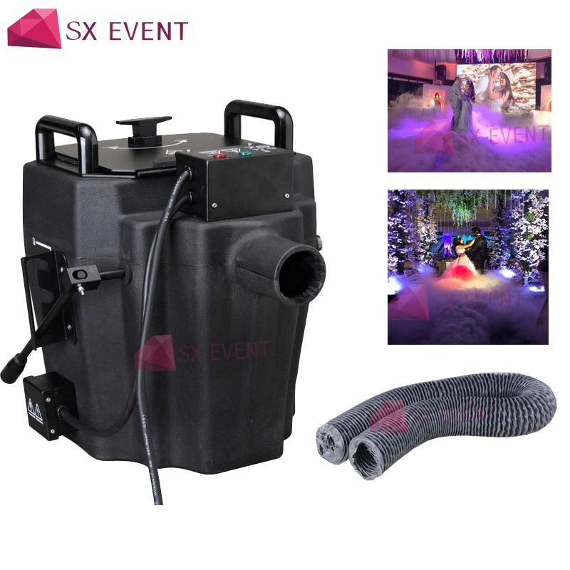 3500W Nimbus Dry Ice Fog Machine Low Lying Fog Smoke Machine Low Ground Fog Stage Effect For Wedding DJ Party Show Night Club