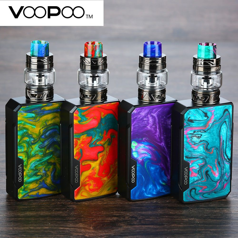 Original VOOPOO Drag 2 177W TC Kit w/ 5ml/2ml UFORCE T2 Atomizer 177W Max Output Uforce U2 & N3 Coils Vs Drag 157W/ Shogun Kit
