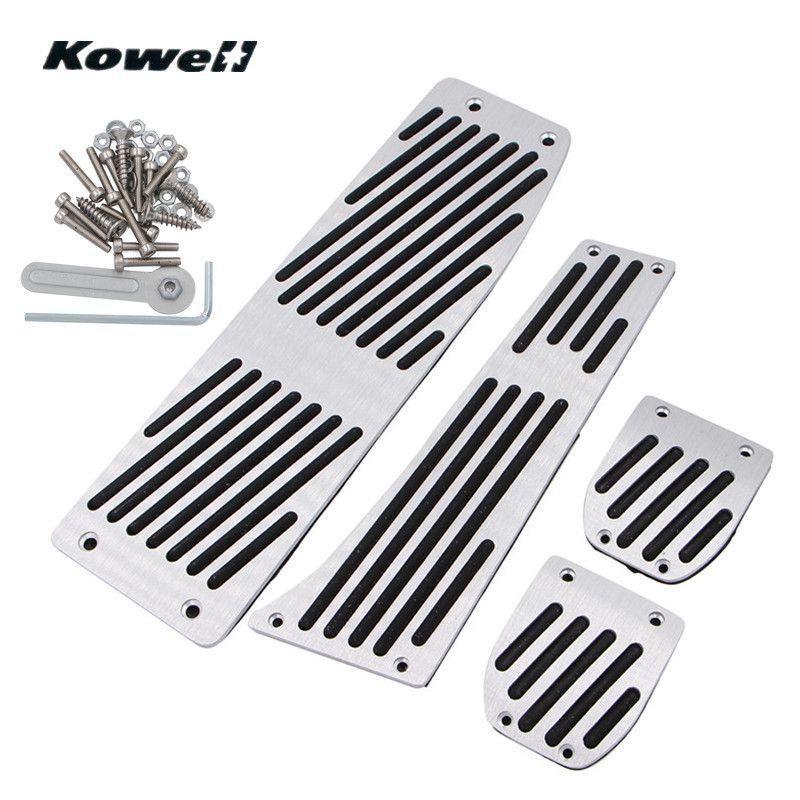 M-Logo Foot Rest Fuel Brake Clutch Pedals Plate Cover Car Pedal Pads For BMW 3 Series 3Series X1 E30 E36 E46 E87 E90 E91 E92 E93