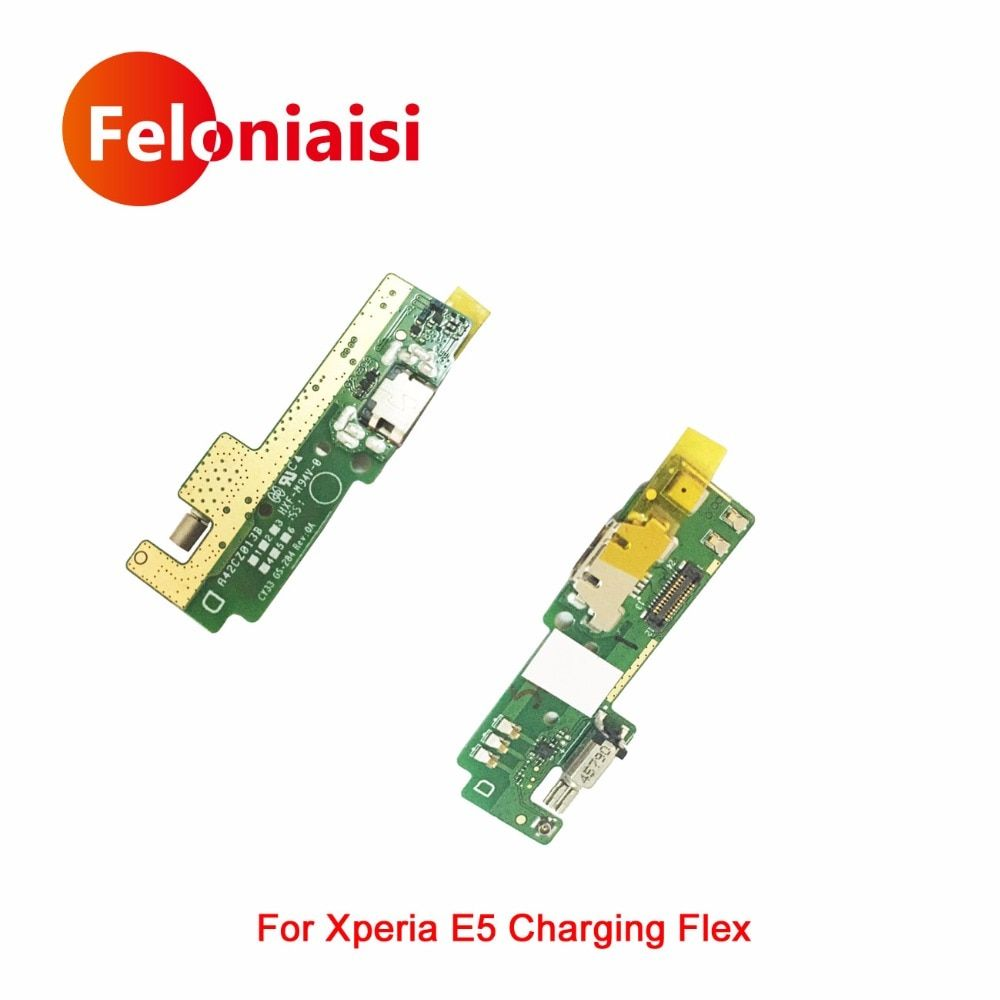 High Quality For Sony Xperia E5 F3311 F3313 Micro USB Charging Port Charger Dock Plug Connector Flex Cable Board Replacement