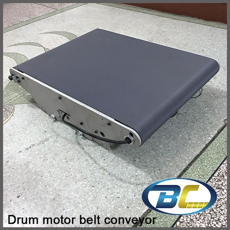 Portable Motorized Roller Belt Conveyor, Baggage Checkin Counters at Airport Security Inspection Machine Drum Motor Drive Roller