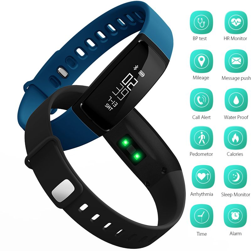 Smart Bracelet Bluetooth Smart Band V07 Watches Blood Pressure Heart Rate Monitor Pedometer Fintess Tracker SMS Call Reminder
