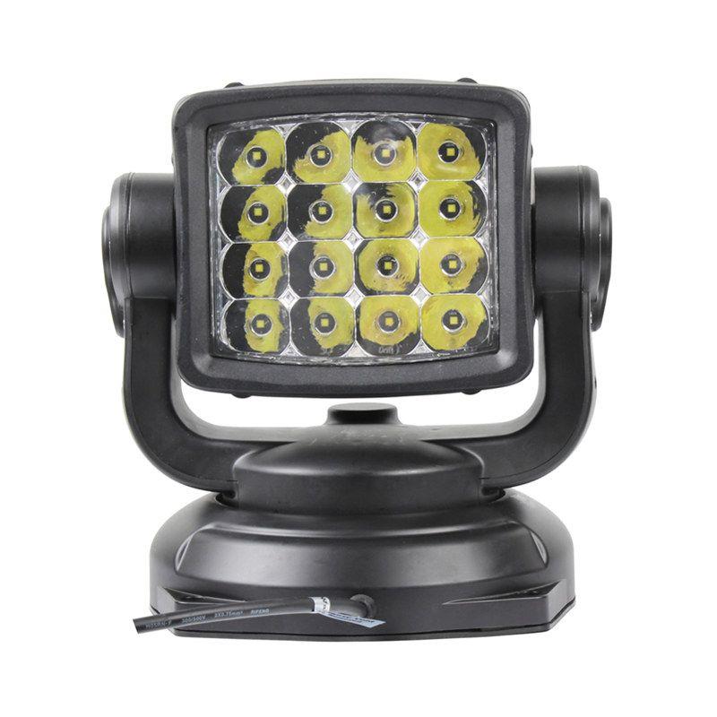 360 grad Rotierenden 80 W Led Suchscheinwerfer Fernbedienung Spot Arbeit Licht