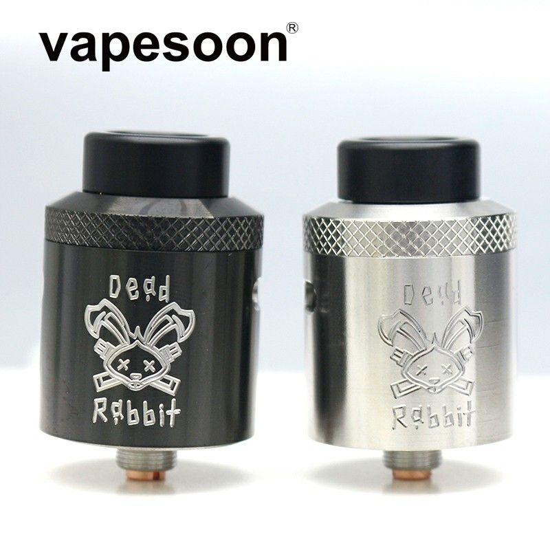 Dead Rabbit BF RDA Atmoizer Tank aluminum Supports Single/Dual Coil Vape Fit For elctronic cigarette box Mod vape
