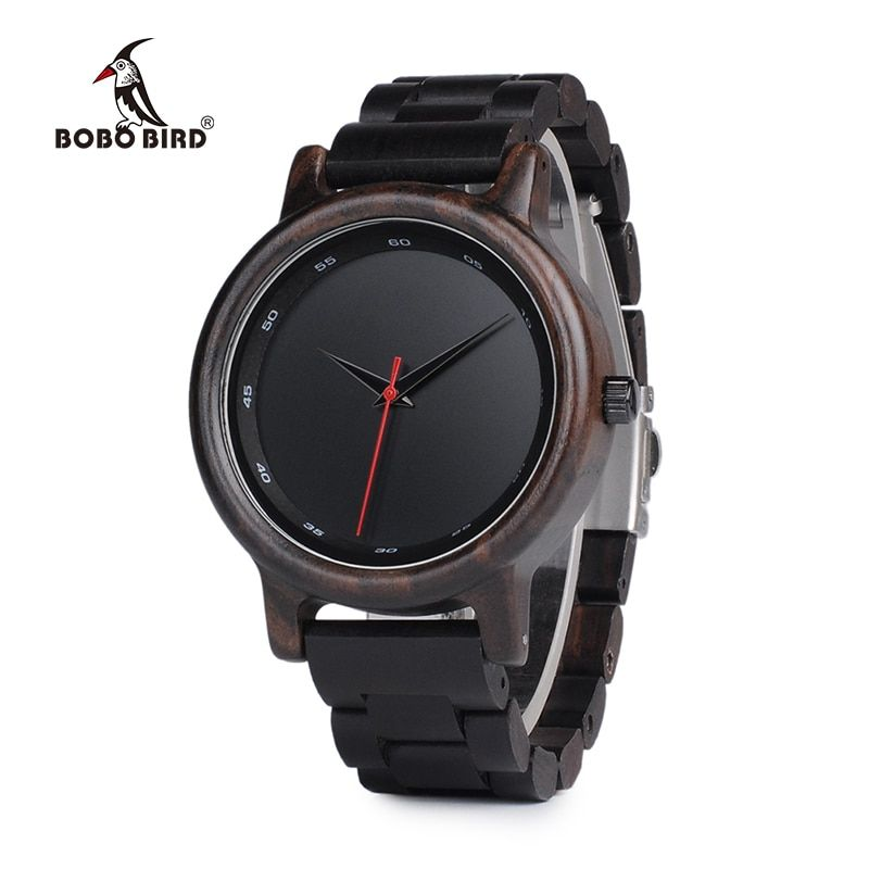 BOBO BIRD Wood Watch Men Relogio Masculino Top Luxury Brand Mens Quartz Watches erkek kol saati W-P09 OEM Drop Shipping