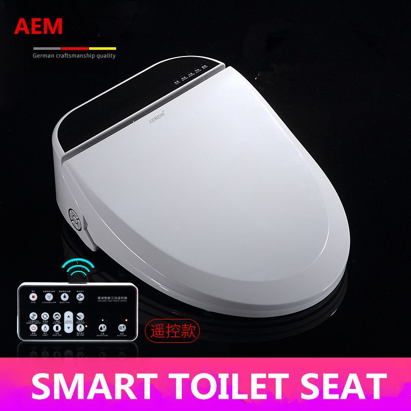 Intelligente Wc-sitz Beheizten Smart Bidet Deckel WC Sitz LED Längliche Automatische Wc Deckel Kinder Baby Ausbildung Sitzen Heizung
