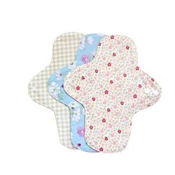 Long Soft Massage Healthy Sleep Women Feminine Hygiene Reusable Washable Panty Liner Menstrual Sanitary Nappy Towel Pad