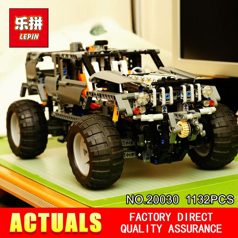 Lepin 20030 Technic Ultimate Series 1132Pcs The Off-Roader Set Children Educational Building Blocks Bricks Toys Model Gifts 8297