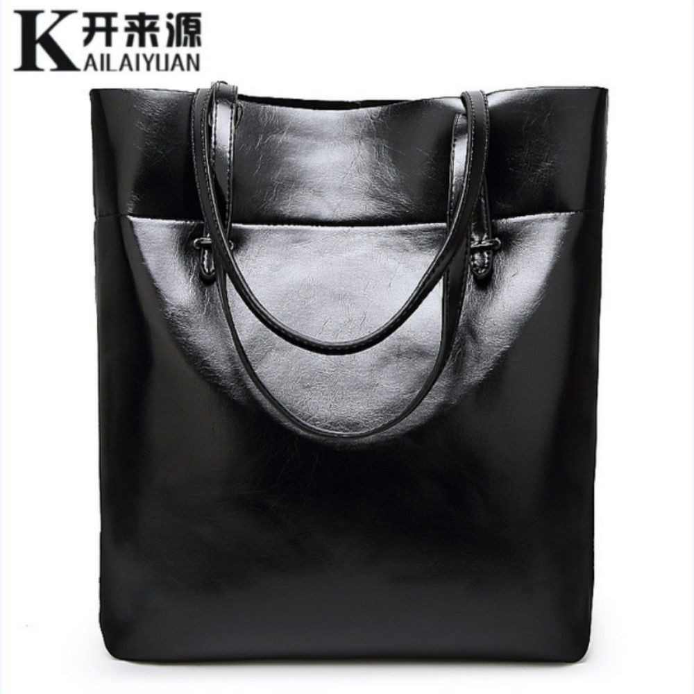 KLY 100% Genuine leather Women handbags 2018 New Simple fashion shoulder diagonal casual handbag Shoulder Messenger Handbag