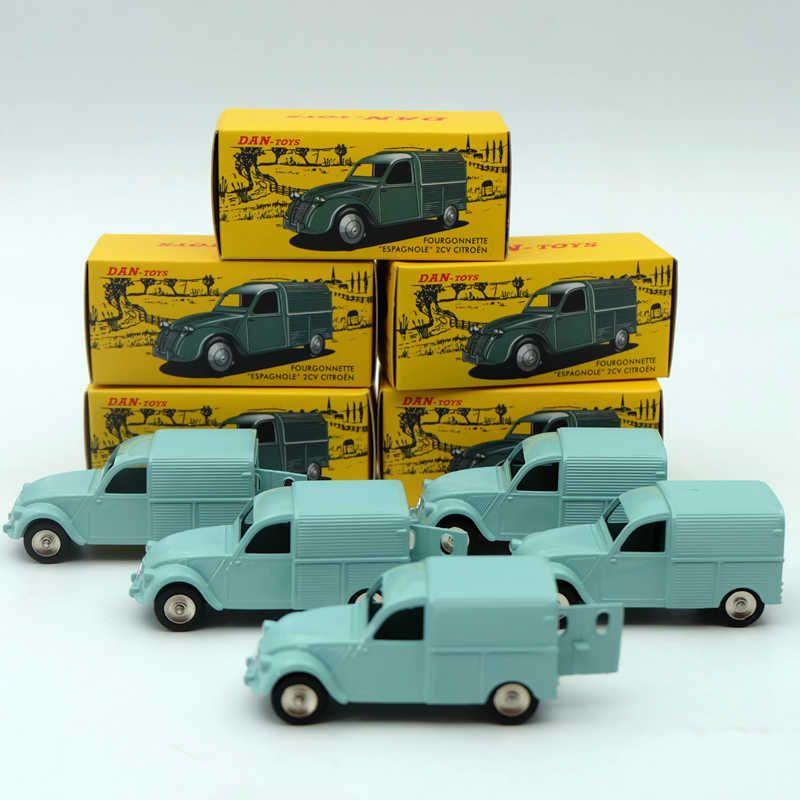 5 pièces Decasts & jouet véhicules 1:43 CIJ Atlas DAN 019 021 Citroen 2CV Moulé Sous Pression Voitures Modèle Collection Loisirs Édition Limitée