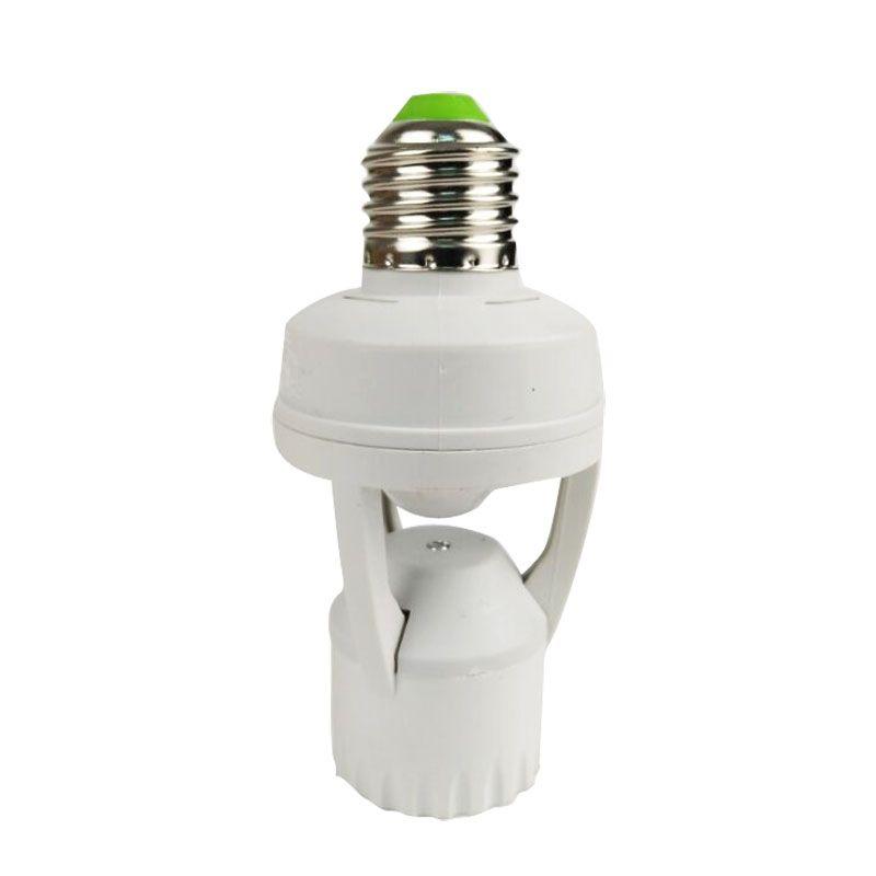 AC 110-220 V 360 degrés 60 W PIR capteur de mouvement à Induction IR infrarouge humain E27 Plug SocketBase Led ampoule support de lampe chaude