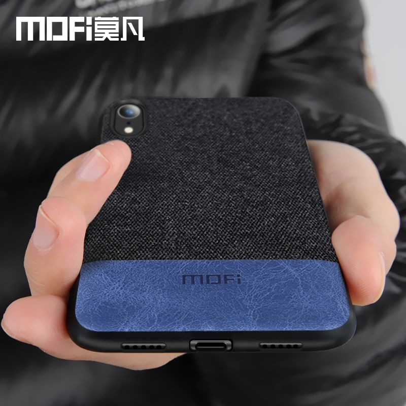 MOFi original case for iPhone XS case cover for iPhone XR fabric protective silicone coque capas for iPhone XS Max case