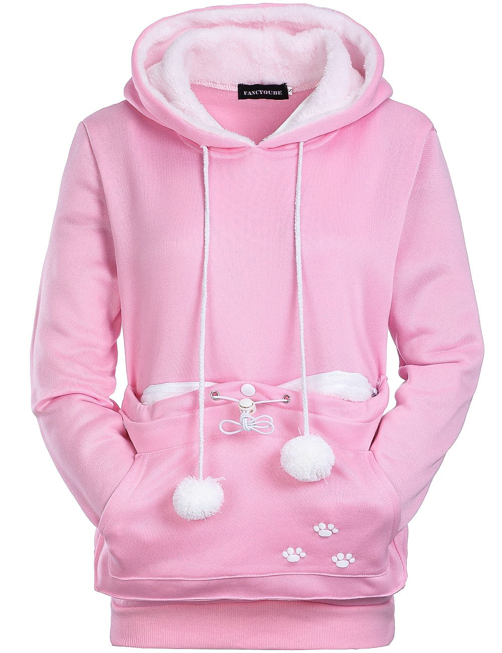 Dog Pet Hoodies Tops Cat Lovers Hoodies With Cuddle Pouch For Casual Kangaroo Pullovers With Ears Sweatshirt XL Drop Shipping