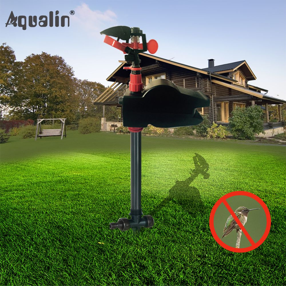 Animal Away Scarecrow <font><b>Garden</b></font> Jet Spray Repellent Driving Small Animals Repellent Hi-Tech Solenoid Valve Used#31002