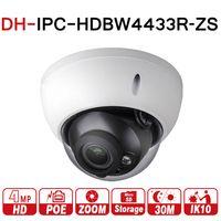 $ Number mp Cámara IP Dahua IPC-HDBW4431R-ZS 2.8mm ~ 12mm Eléctrica Zoom CCTV Soporte de La Cámara del IP del PoE IK10 IP67 A Prueba de agua IR 50 M