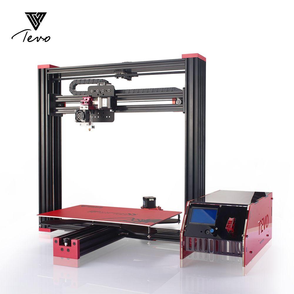 Impresora 3D TEVO Black Widow 3D Drucker 370*250*300mm MK3 Aluminium Heißer bett für OpenBuild Aluminium Extrusion mit MKS Mosfet