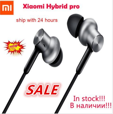 En Stock Original nouveau Xiao mi casque mi hybride Pro écouteur Triple pilote | mi In-ear Pro HD | Circle Iron Pro mi c