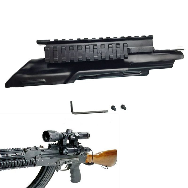 Hunting Accessories AK AK47 Tri-Rail Weaver Picatinny Scope Mount With Adjustable Side Weaver