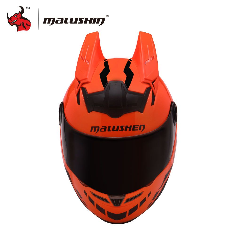 MALUSHU Motorcycle Helmet Novelty Motocross Helmet Flip Up Helmet Open Face Moto Helmet Casco Moto Capacetes De Motociclista