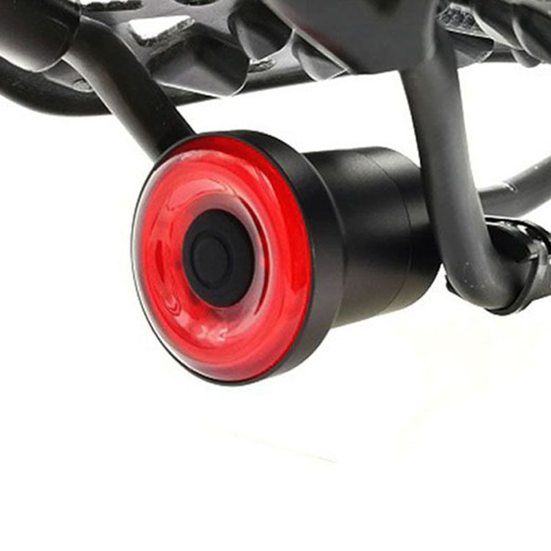 Usb Bike <font><b>Tail</b></font> Light lantern Smart Brake Sensor Taillights MTB Road Cycle Rear Led Bycicle Back Lights