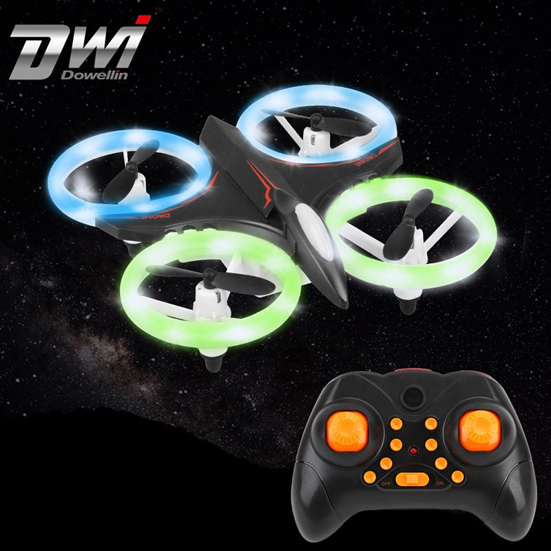 Multicolor Light Mini <font><b>Drone</b></font> RC Helicopter Quadcopter Dron Copter Remote Control Children Toy Altitude Hold Quadrocopter D6