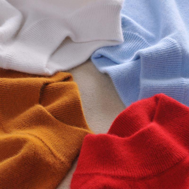 De haute qualité Pulls En Cachemire Femmes De Mode Automne Hiver Femme Douce et Confortable Chaud Mince Cachemire Pulls