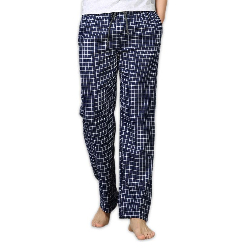 Été 100% coton sommeil bas hommes pyjama simple vêtements de nuit pantalons pijamas pour homme pure hommes pantalon pyjama pantalon grande taille