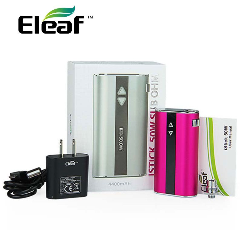 100% Original Eleaf iStick MOD Battery 50W 4400mAh with OLED Screen Upgraded Edition Special Edition Colors 50W iStick Mod