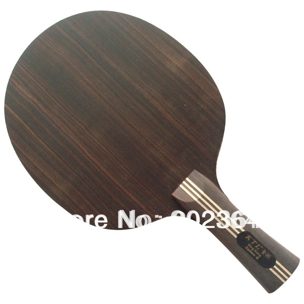 KTL KING KONG 9-Ply ( Wood mix Carbon) Table Tennis Blade for Ping Pong Racket Long shakehand FL