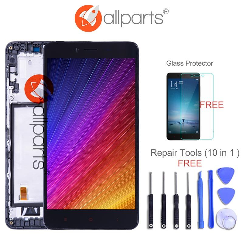 For XIAOMI <font><b>Redmi</b></font> Note 2 Display Touch Screen Digitizer Assembly Replacement NO Dead Pixels 5.5  FHD LCD For <font><b>Redmi</b></font> Note 2 LCD
