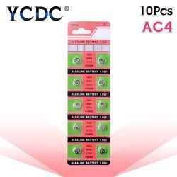 10 pcs/pack AG4 LR626 377 Bouton Batteries SR626 177 Pile Alcaline Batterie 1.55 V 626A 377A CX66W Pour Montre jouets À Distance