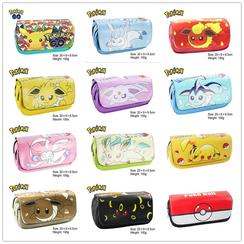 New Arrival Comic Marve Doctor Who Pokemon Pencil Pen Case Cosmetic Makeup Coin Pouch Zipper Bag Purse Dollar Price