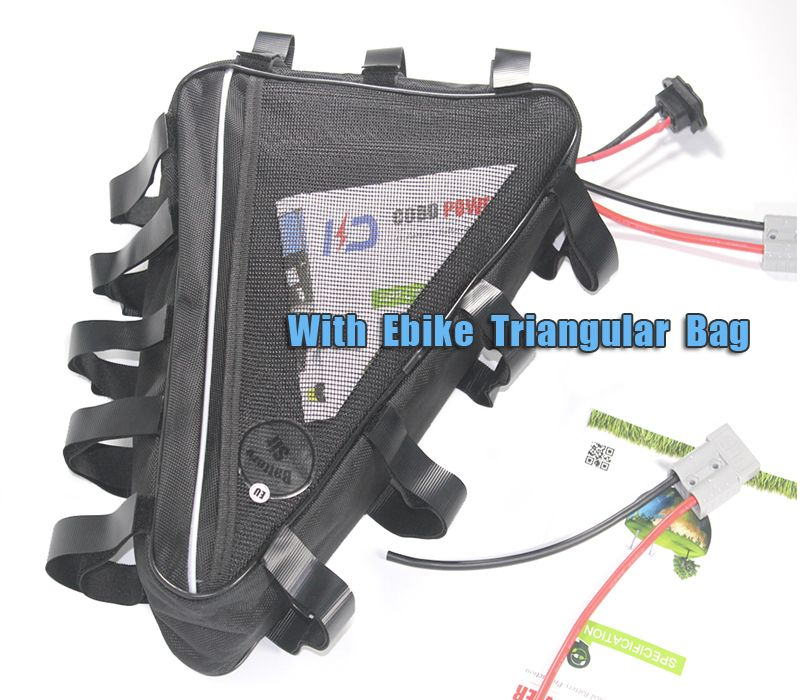 Electric bike battery 52V 2000W E bike Triangle battery pack 48V 30AH
