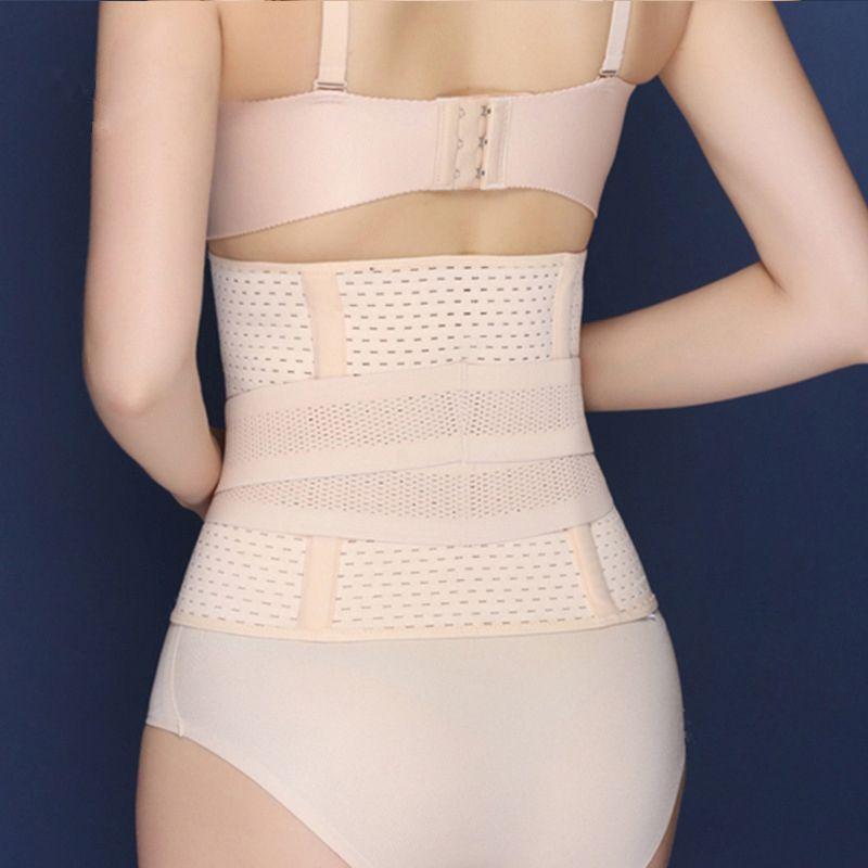 Dessin ceinture abdominale taille ceinture corps façonnage ceinture post-partum respirant corps shaper graisse brûlant cummerbund contrôle corset