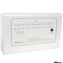Repeater Panel 16 Ulangi zona display panel bekerja dengan Panel Alarm Kebakaran Konvensional dengan RS485