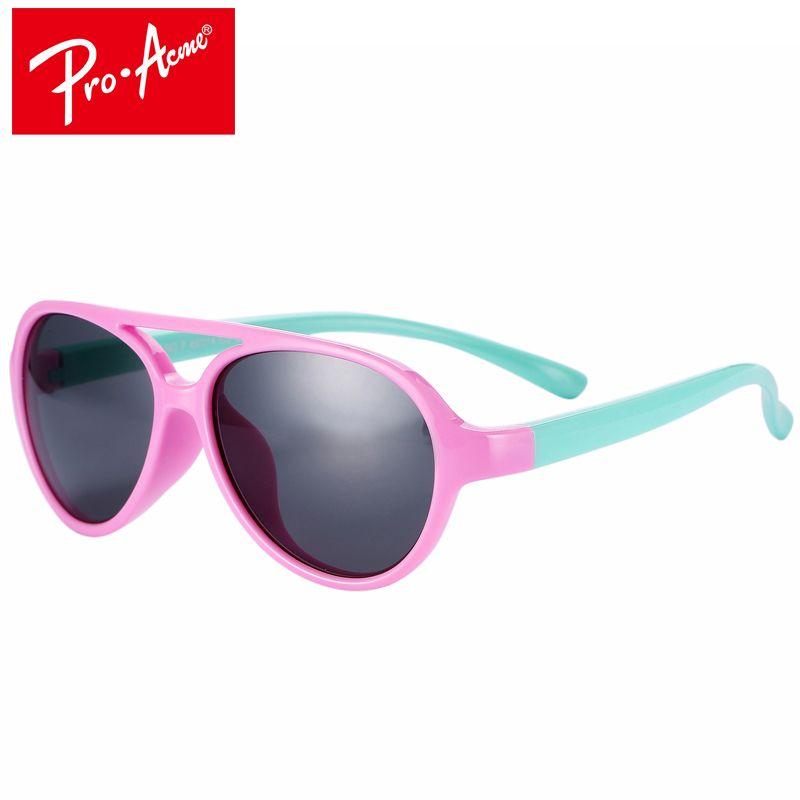 Pro Acme TR90 Flexible Kinder Sonnenbrille Polarisierte Jungen Mädchen Sonnenbrille Kind Sonnenbrille Infant Oculos Shades UV400 CC0607
