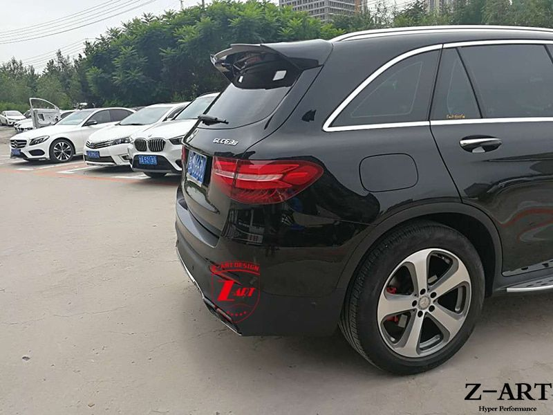 plastic tuning body kit for Mercedes-Benz GLC W253 2015-2017 for GLC AMG 63 looks body kit for Mercedes-Benz GLC free shipping
