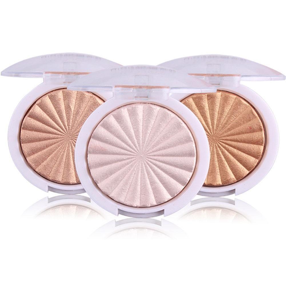 Mlle Rose Glow Kit Surligneur Maquillage Shimmer Poudre Surligneur Palette Base Illuminateur Point Culminant Visage Contour D'or Bronzer
