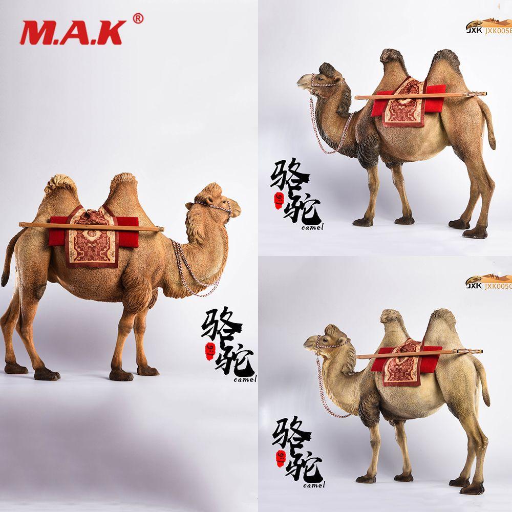 1/6 Colletible Solider Abbildung Szene Zubehör Jxk005 Bactrian Kamel Camelus Harz Tier Abbildung Modell für 12 ''Action-figur