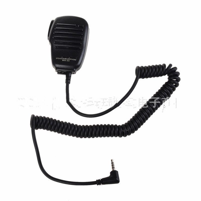 Pour Yaesu haut-parleur Microphone pivotant Clip 3.5mm écouteur Audio Jack MH34B4B pour Yaesu VX-3R FT-60R FT1DR FT2DR épaule PTT Mic