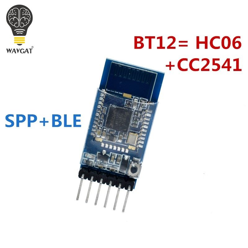WAVGAT BT12 mit Bluetooth Bluetooth dual-modus serial port BLE4.0 + 2,0 iOS Android drahtlose modul BT12 = HC06 + CC2541