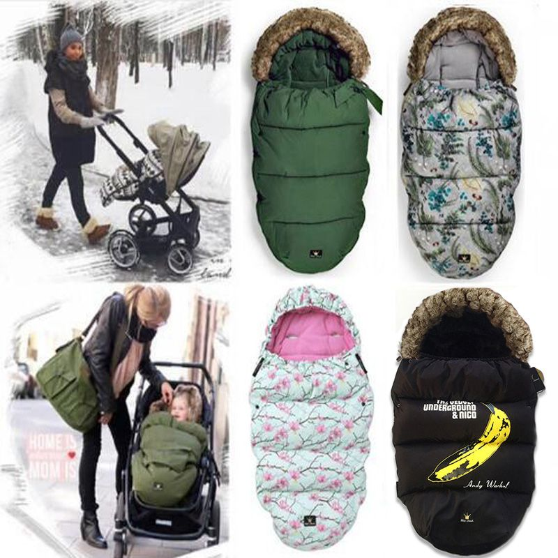 ELODIE DETAILS Baby Sleeping Bag for stroller warm winter Newborn Envelope Kids Thick foot cover for pram wheelchair Infant