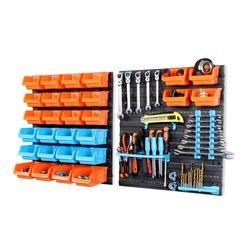 HORUSDY многофункциональный ящик для инструментов новый настенный инструмент для хранения деталей гаражный блок стеллажи Органайзер аппарат...