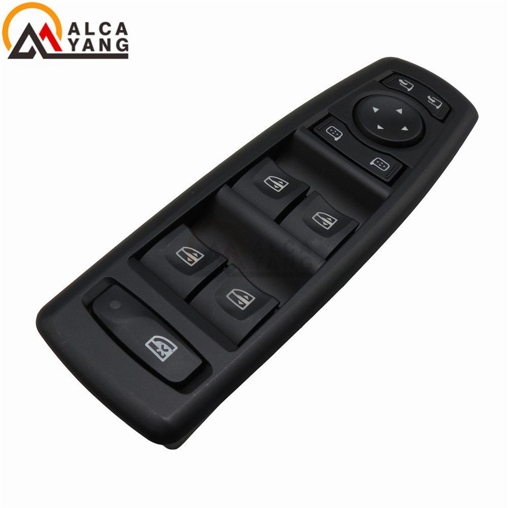 Malcayang Black Color Window Mirror Master Switch For Renault Fluence 2008-2016 7700817337 25400000 809610006R