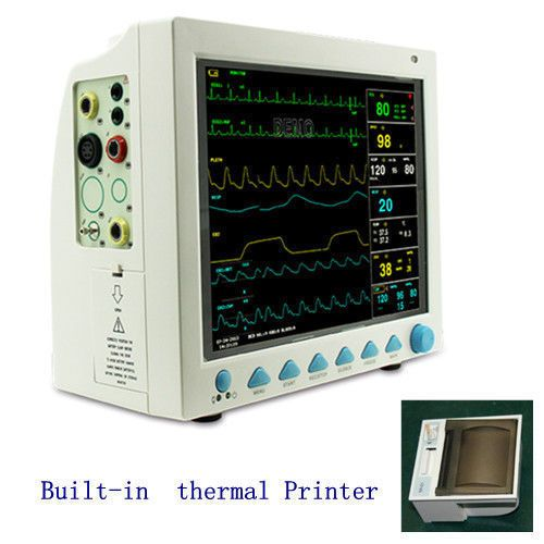 CE FDA Contec CMS8000 Vet Multi-parameter Veterinary Patient Monitor for Animals +Printer